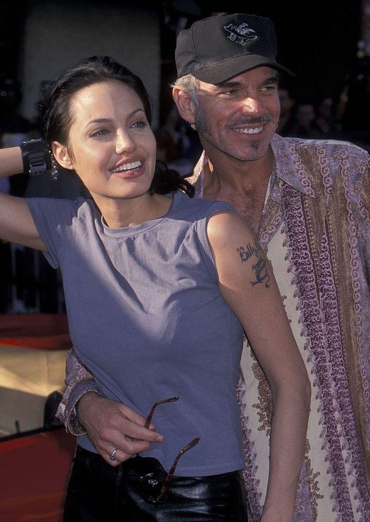 Angelina Jolie's relationships
