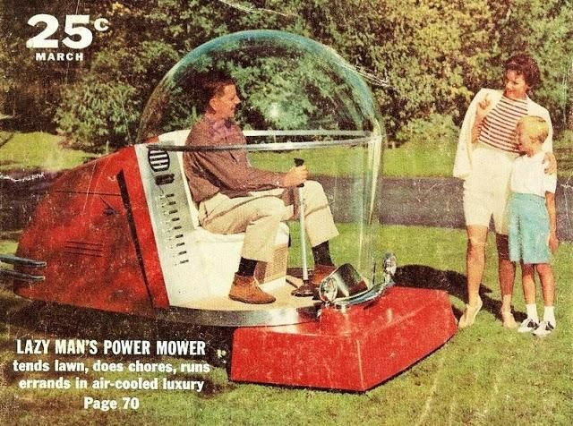 Luxury Lawnmower